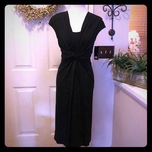 Lafayette One Forty 8 NWT Beautiful Black Dress